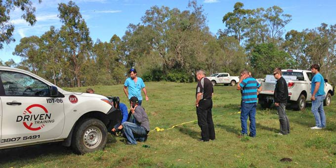 4wd driver training brisbane qld