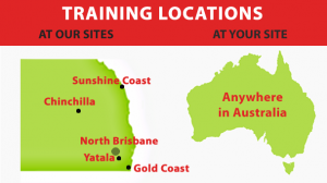 non-4wd training locations brisbane gold coast sunshine qld